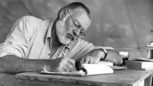 Ernest Hemingway, who probably didn't write the shortest story ever