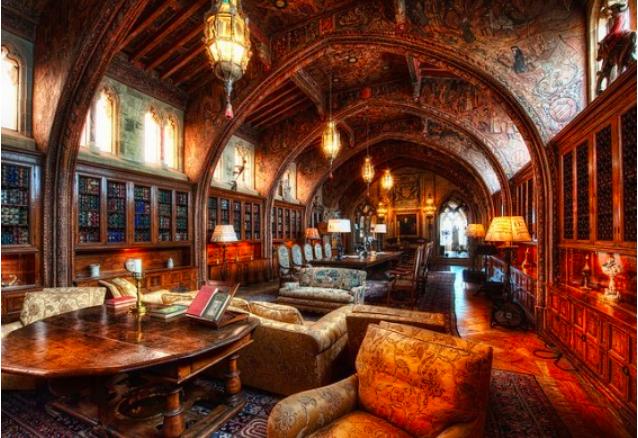 Hearst Castle Gothic Study